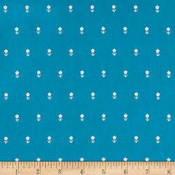 Dear Stella Fresh Dew Daisies Marina Fabric