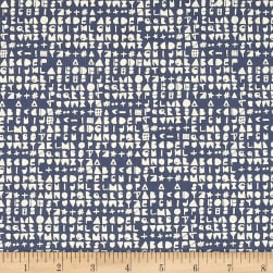 Cotton + Steel Flower Shop Cipher Sea Fabric