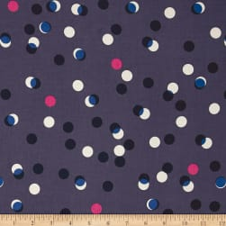 Cotton + Steel Jubilee Party Lights Blue Fabric