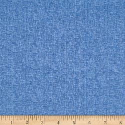 "Basically Wide 108"" Quilt Back Thatch Blue"