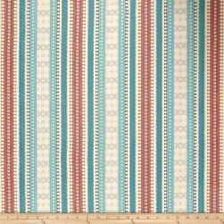 Genevieve Gorder Ancient Stripe Jacquard Adobo Fabric