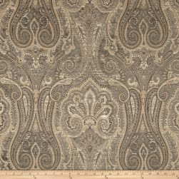 Waverly Clubroom Paisley Chenille Jacquard Monsoon