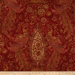 Waverly Jewel Tower Sateen Masala Fabric