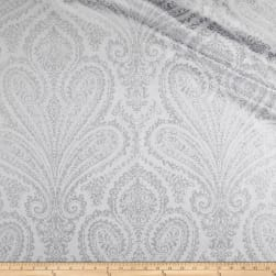 Waverly Paisley Aglow Twill Frost Fabric