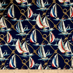 Waverly Sun N Shade On Sail Nautical Fabric