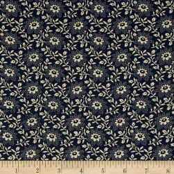 "108"" King Quilt Backs Floral Blue"