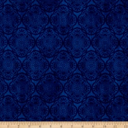 Timeless Treasures Exotic Tonal Medallion Blue