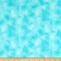 Timeless Treasures Viola Texture Aqua Fabric
