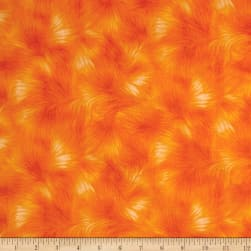 Timeless Treasures Viola Texture Orange Fabric