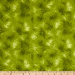 Timeless Treasures Viola Texture Green Fabric