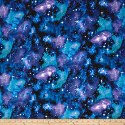 Timeless Treasures City Knits Jersey Knit Galaxy Fabric