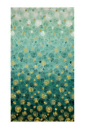 Shiny Objects Metallic Nocturne Cypress Fabric