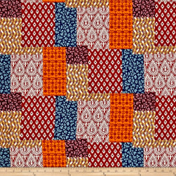 Michael Miller Indian Summer Patch-Ouli Spice Fabric
