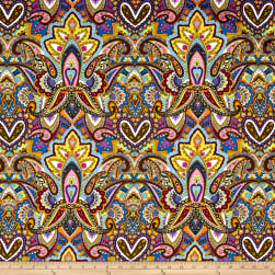Michael Miller Indian Summer Gypsy Heart Jewel Fabric