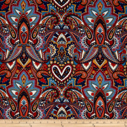 Michael Miller Indian Summer Gypsy Heart Spice Fabric