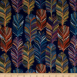 Michael Miller Indian Summer Catching Dreams Spice Fabric