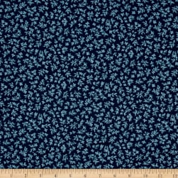 Michael Miller Indian Summer Jasmine Azure Fabric