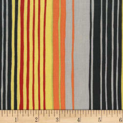 Michael Miller Sandpipers Tideline Stripe Ebony Fabric