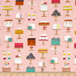 Michael Miller Bake Shop Sweet Cakes Confection Fabric