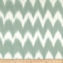 Dream Weaves Ikat Zig Zag Sage Fabric