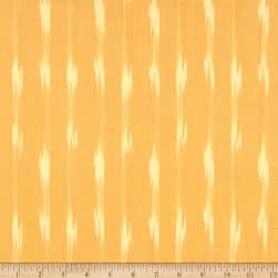 Dream Weaves Ikat Q-Tip Yellow Fabric