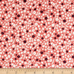 Forest Talk Mini Floral Med Pink Fabric