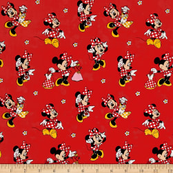 Disney Minnie Traditional Minnie Mouse Loves Dresses Red