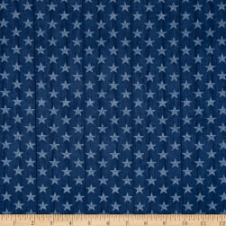 Heritage Small Stars Blue Fabric