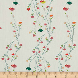 Art Gallery Garden Dreamer Climbing Posies Pale Fabric