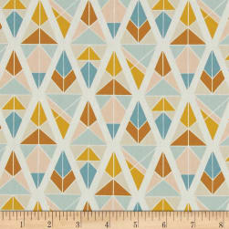 Art Gallery Garden Dreamer Diamond Fragments Gold Fabric