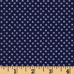 Cotton + Steel S.S. Bluebird Shibori Navy Fabric