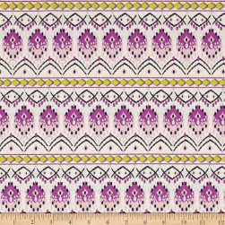 Art Gallery Sage Baja Weave Mauve Fabric