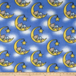 Fleece Dreamybear Royal Fabric