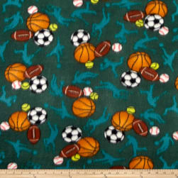 Polar Fleece All Sports Hunter Fabric