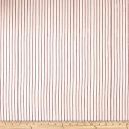 Premier Prints Classic Ticking Stripe Twill Lipstick Fabric