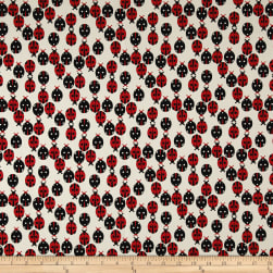 Premier Prints Ladybug Macon Formica Red/Black Fabric