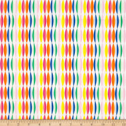 Art Gallery Fiesta Fun Happy Streamers Fabric