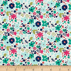 Art Gallery Abloom Fusion Vintage Rush Abloom Fabric