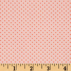 Art Gallery Les Petits Petits Stipples Rose Fabric