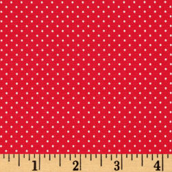 Art Gallery Les Petits Petits Stipples Teaberry Fabric