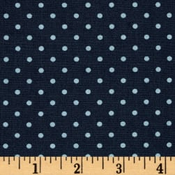 Art Gallery Les Petits Petits Dots Midnight Fabric