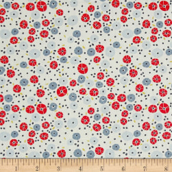 Art Gallery Charleston Barnacles Cherry Fabric