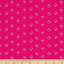 Art Gallery Indie Boheme Brief Mementos Pink Fabric