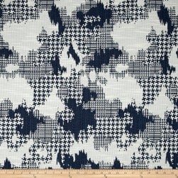 Robert Allen @ Home Plaid World Basketweave Jacquard