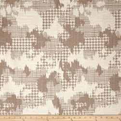 Robert Allen @ Home Plaid World Basketweave Jacquard Linen Fabric