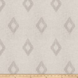 Fabricut Abree Diamond Linen Blend Grey Fabric