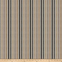 Fabricut Acapella Stripe Jacquard Pewter Fabric