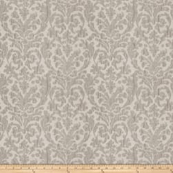 Fabricut Ace Damask Textured Jacquard Zinc Fabric