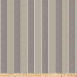 Fabricut Aft Stripe Slub Pewter Fabric