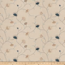 Fabricut Ajani Floral French Blue Fabric